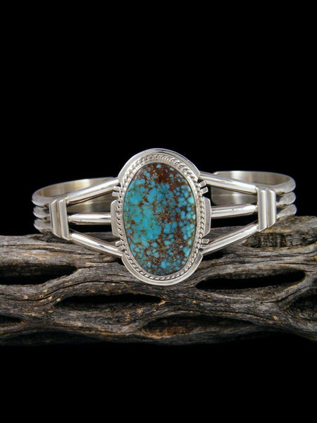 #8 Turquoise Sterling Silver Cuff Bracelet