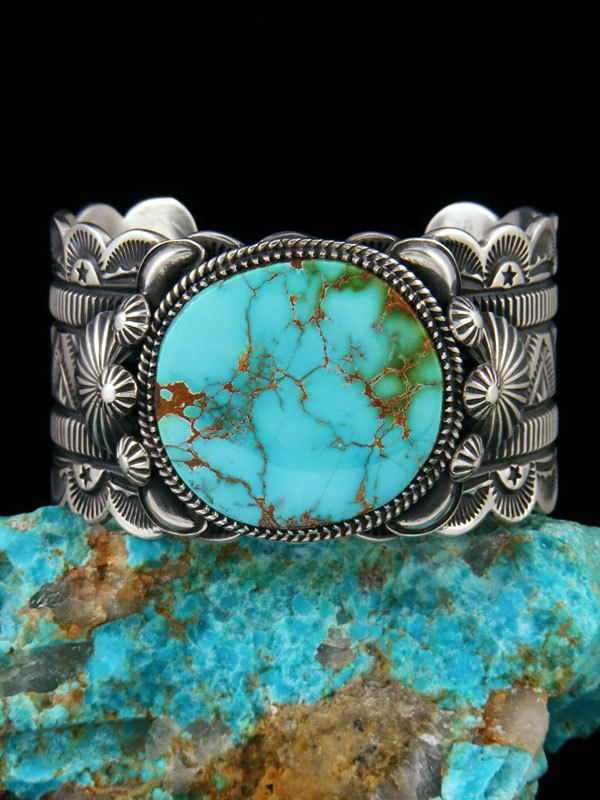 Native American Indian Jewelry Royston Turquoise Bracelet