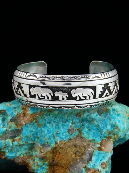 Native American Jewelry Hand Crafted Cuff Bracelet