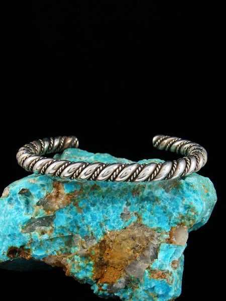 Sterling Silver Twisted Rope Horse Whisperer Bracelet