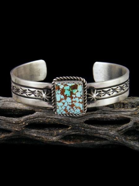 Native American Indian Jewelry Natural Royston Turquoise Cuff Bracelet