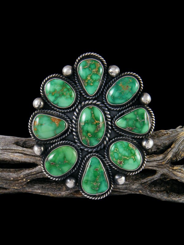 Natural Emerald Valley Turquoise Ring, Size 8