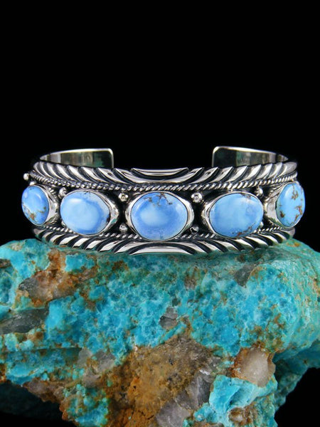 Golden Hill Turquoise Sterling Silver Bracelet