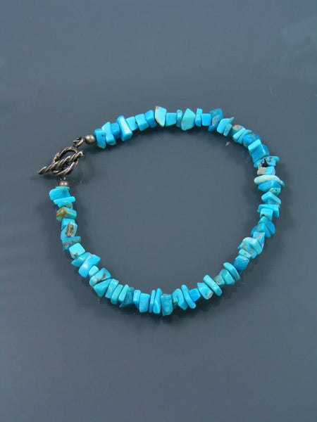 Native American Indian Jewelry Turquoise Beaded Bracelet