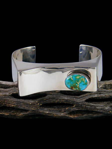 Native American Royston Turquoise Cuff Bracelet