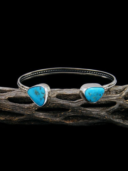 Navajo Turquoise Sterling Silver Cuff Bracelet