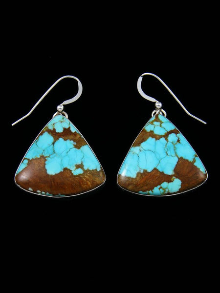 Native American #8 Turquoise Dangle Earrings