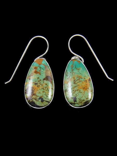 Native American Jewelry Turquoise Dangle Earrings
