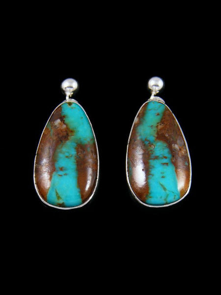 Native American Jewelry Turquoise Post Earrings