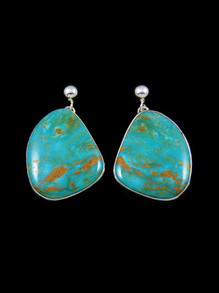 Turquoise Sterling Silver Dangle Earrings
