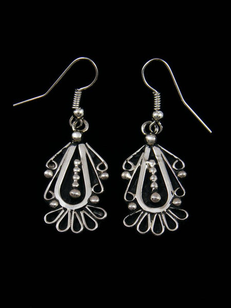 Native American Sterling Silver Dangle Earrings