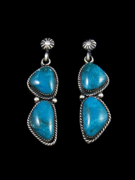 Navajo Turquoise Post Earrings