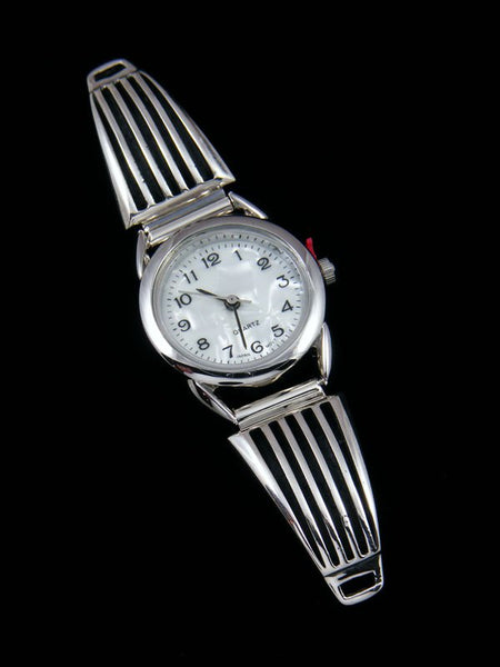 Native American Indian Jewelry Sterling Silver Ladies' Watch