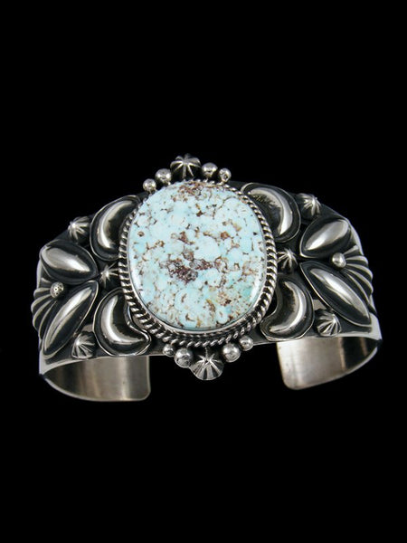 Native American Indian Jewelry Dry Creek Turquoise Cuff Bracelet