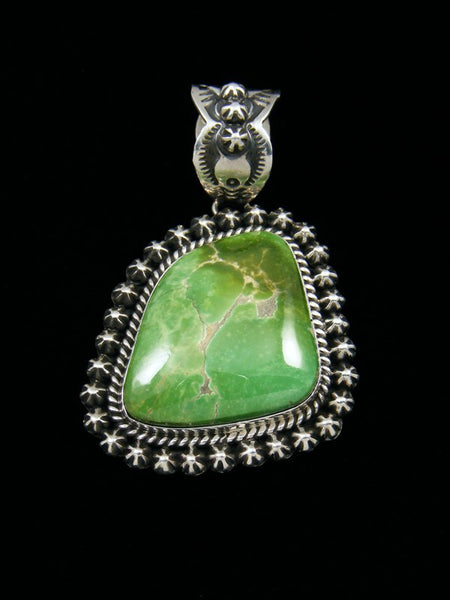 collections native pendant grande american turquoise mine pueblodirect royston com jewelry green