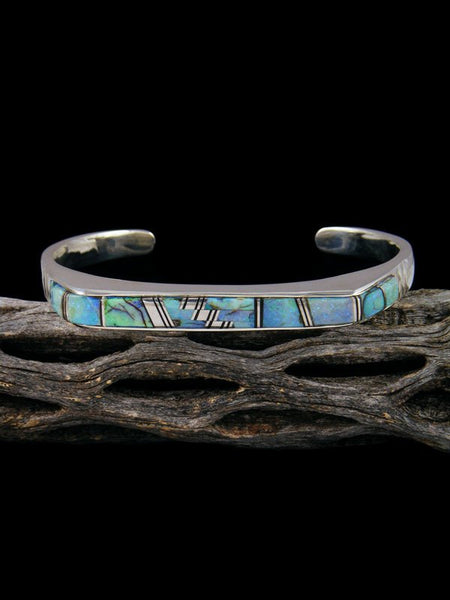 Native American Indian Monarch Opal Inlay Bracelet