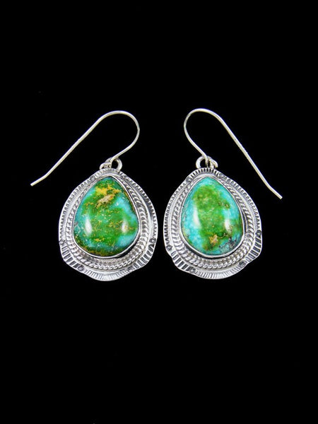 Sonoran Turquoise Sterling Silver Dangle Earrings