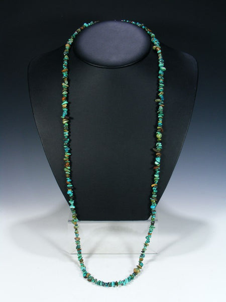 Native American Long Wrap Necklace