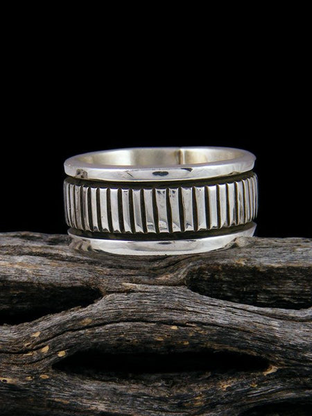 Navajo Sterling Silver Ring, Size 7