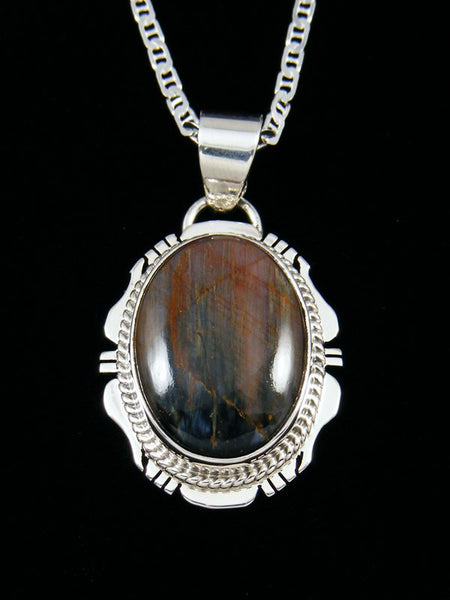 Native American Pietersite Pendant