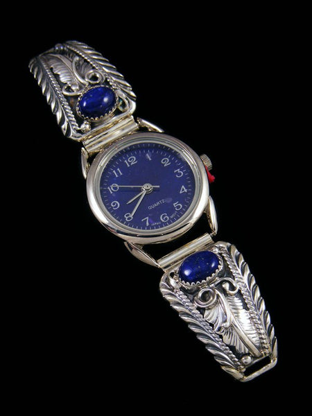 Native American Indian Lapis Ladies' Watch