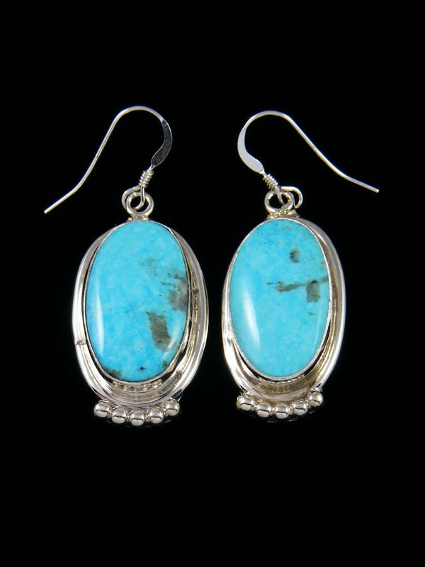 Native American Indian Jewelry Turquoise Dangle Earrings