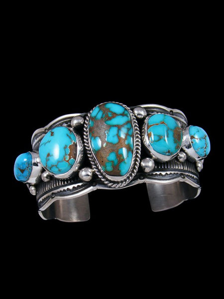 Native American Dragonfly Turquoise Cuff Bracelet