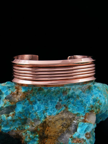 Native American Indian Jewelry Copper Cuff Bracelet