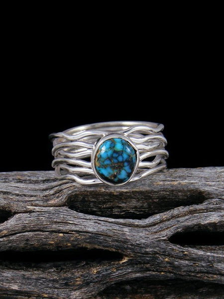 Sierra Nevada Turquoise Ring, Size 6
