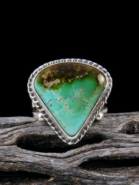 Natural Royston Turquoise Ring, Size 9