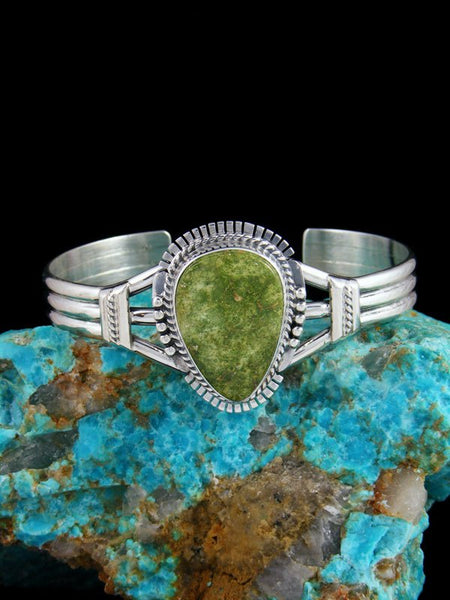 Emerald Valley Turquoise Sterling Silver Cuff Bracelet