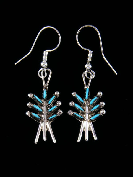 Native American Indian Jewelry Turquoise Earrings