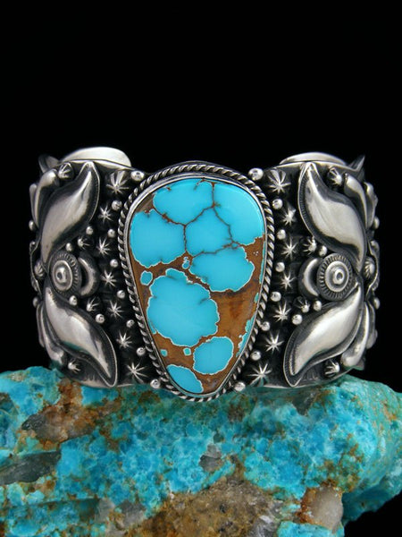 Native American Natural Dragonfly Turquoise Cuff Bracelet