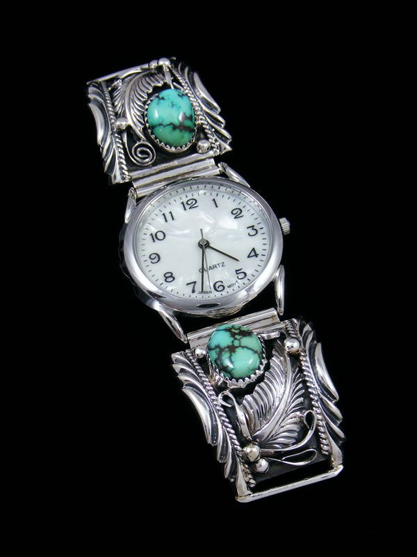 Native American Indian Jewelry Variscite Men's Watch