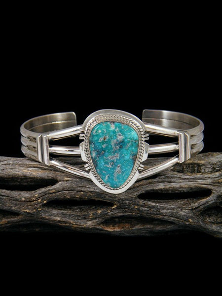 Native American Indian Jewelry White Water Turquoise Bracelet