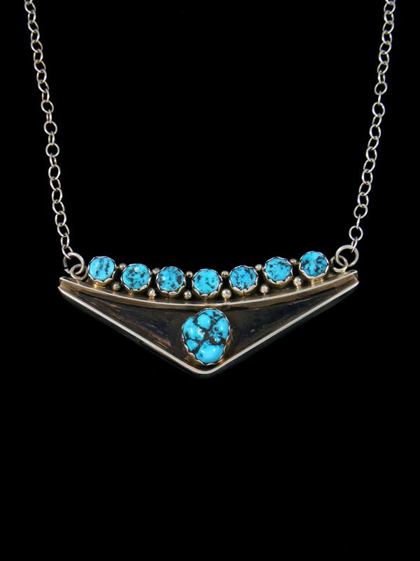 Native American Kingman Turquoise Necklace