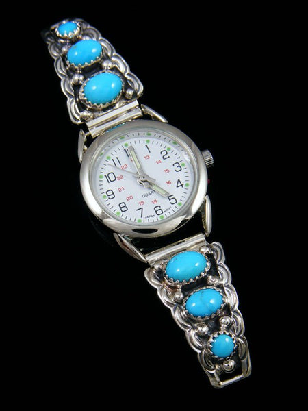 Native American Indian Turquoise Ladies' Watch
