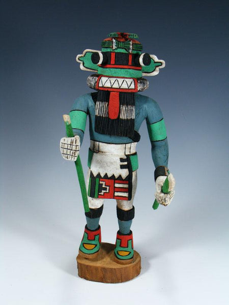 Hopi Sa Hamu-Ku Carved Pueblo Kachina Doll