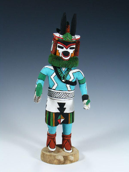 Hopi Antelope Carved Pueblo Kachina Doll