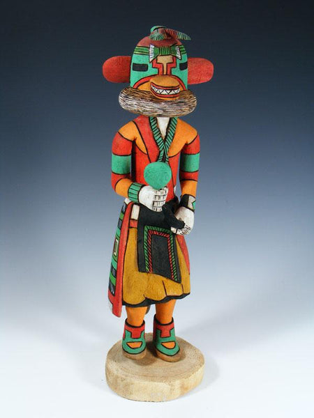 Hopi Lizard Carved Pueblo Kachina Doll