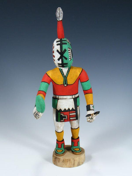 Hopi Rattle Carved Pueblo Kachina Doll
