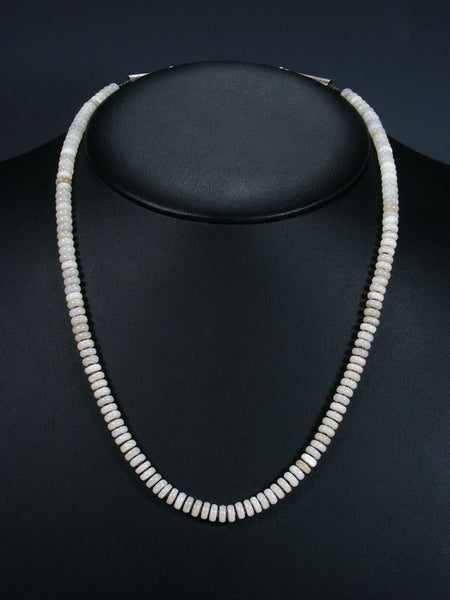 Native American Shell and Heishi Necklace
