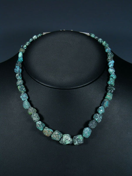 Native American Cloud Mountain Turquoise Necklace