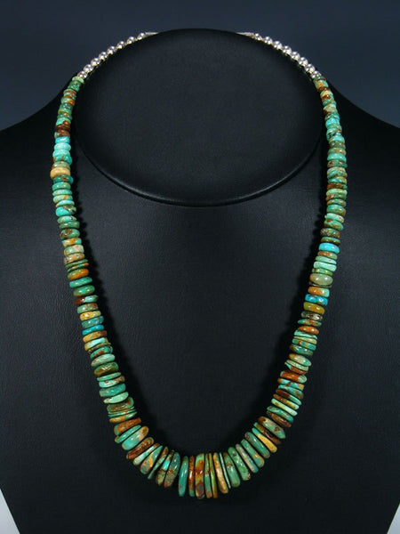Native American Graduated Turquoise Necklace
