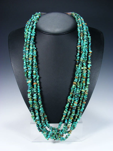 Six Strand Navajo Turquoise Necklace