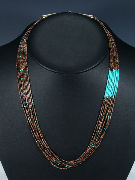 Native American Indian Jewelry Santo Domingo Necklace