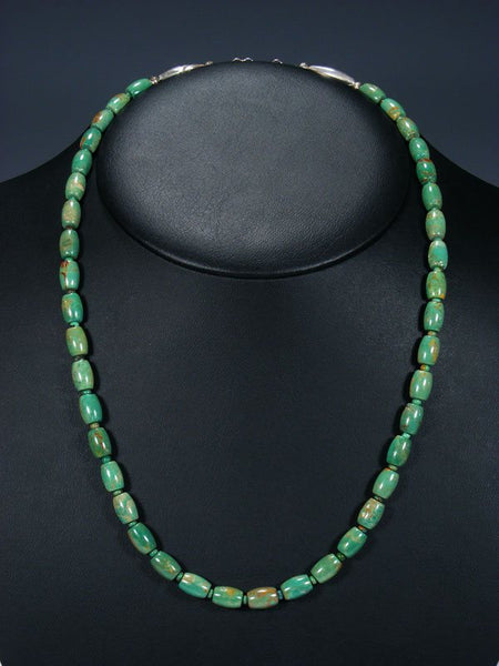 Native American Jewelry Single Strand Turquoise Necklace