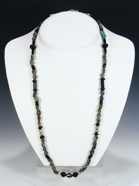 Estate Native Turquoise Necklace