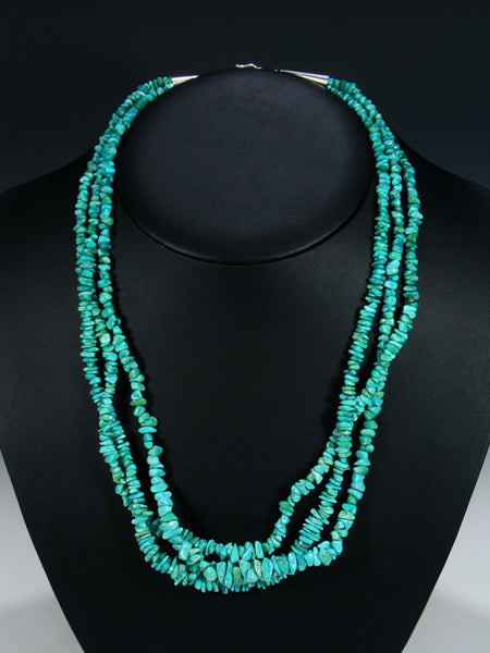 Native American Multi-Strand Turquoise Necklace