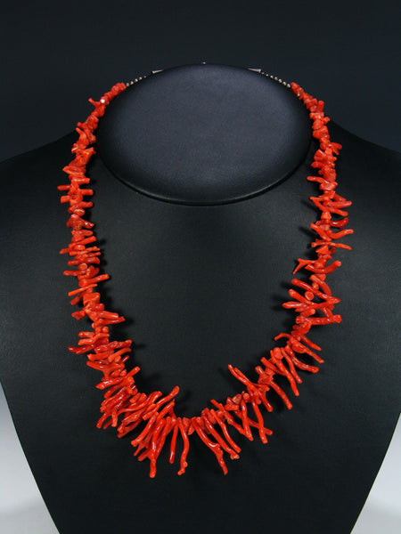 Old Indian Jewelry Coral Necklace